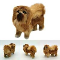 Doll Stuffed Animal Kids Realistic Simulation Dog Toy Pomeranian Toy Plush