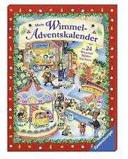 Mein Wimmel Adventskalender Ravensburger 24 Wimmel Bilderbücher Ab 3 Jahr +BONUS