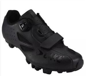Lake MX176 MTB Cycling/Bike Shoes - Black  - EU 40 UK 7