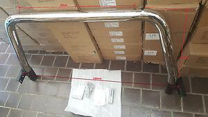"""Ford Ranger PJ/PK 2007 - 2011 Ladder Rack 3"""" Stainless Steel Ladder Rack"""