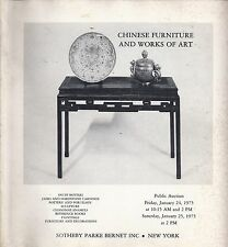 SOTHEBY'S PB CHINESE SNUFF BOTTLES JADE PORCELAIN PAINTINGS FURNITURE Catalog 75