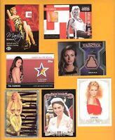 MARILYN MONROE WORN HOSE PAM ANDERSON TIA JANE 3 RELIC CARD KATE UPTON MIDDLETON