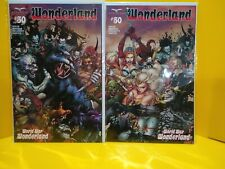 Grimm Fairy Tales Presents Wonderland 50 Cover B & C connecting covers 1st print