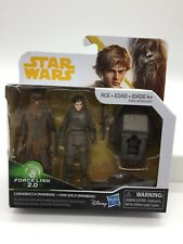 Star Wars: Solo 2-Pack Chewbacca & Han Solo Mimban Sealed Disney Force Link 2.0