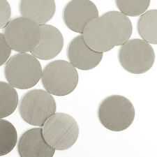 "Circle, 1/2"", Nickel Silver, Metal Stamping Blanks, 24 pc- Jewelry & Craft Discs"