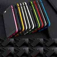 For iPhone 6S 6 Bumper Shockproof TPU Thin Hybrid Skin Hard Back Case Cover JP