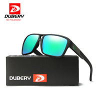 DUBERY Men's Polarized Sunglasses Outdoor Driving Sport Glasses Men Women New