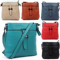 Womens Ladies Trendy Messenger Cross Body Shoulder Satchel Bag