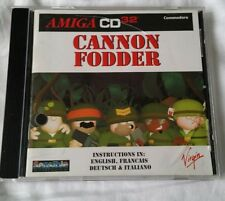 Commodore Amiga CD32 ~ Cannon Fodder by Sensible Software / Virgin