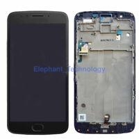 QC Display LCD Touch Screen Digitizer + Frame For Motorola Moto E4 Plus XT1775