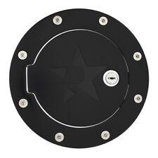 For 13-17 Dodge Ram 1500 2500 3500 RBP RX-2 Black Powder Coated Lock Fuel Door