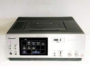 VINTAGE PANASONIC NV-8170 TOP LOADING VHS VCR VIDEO CASSETTE RECORDER RARE