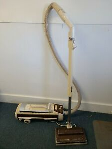 Vintage Electrolux Automatic Control Canister Vacuum w Hose and Head READ NOTES