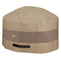 Duck Covers Swiss Coffee Patio Round Fire Pit Cover, Elegant