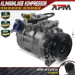 Kompressor Klimaanlage für BMW 5er E60 E61 520 - 535 7er E65 E66 E67 730