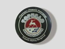 KHL Official Hockey Puck Torpedo