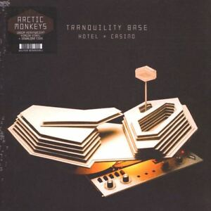 "ARCTIC MONKEYS ""TRANQUILITY BASE""  lp 180 gr. black vinyl sealed"