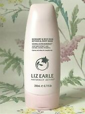 Liz Earle Rosemary and Rock Rose Botanical Body Wash Shower GEL 200ml