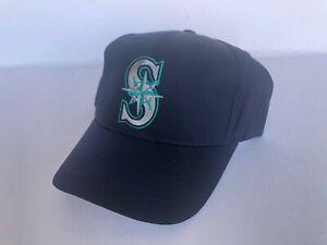 VINTAGE DEADSTOCK SEATTLE MARINERS TWINS ENTERPRISE SNAPBACK HAT YOUTH MLB CAP