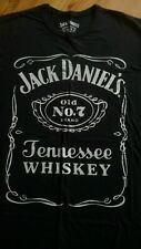 JACK DANIELS Whiskey Official T-Shirt, Black Size Large.New.Bourbon,Country Rock