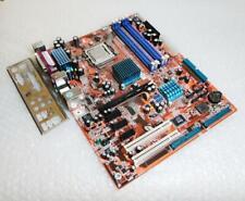 Genuine Abit-GD8 Socket 775 Vintage Motherboard w/ CPU & Backplate