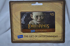 Lord of The rings BLOCKBUSTER VIDEO Return Gollum Gift card NO VALUE