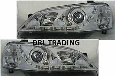 Ford Falcon BA Sedan Ute Wagon DRL Like LED Chrome Projector Headlights Futura
