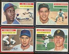 1956 Topps Baseball Cards - 15 Different All VG/EX Condition!
