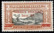 Colonie Italiane Somalia 1924 Manzoni n. 58 ** (m1381)