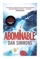The Abominable, Simmons, Dan, Very Good Book