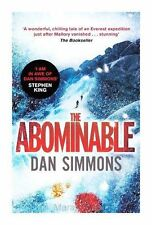 NEW The Abominable, Simmons, Dan Paperback
