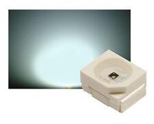 50 SMD LED PLCC 2 Sop - 2 3528 blanco 7000 ° K 9 - 10 LM (3000 MCD) ultrahell