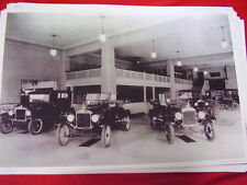 1927  FORD MODEL T SHOWROOM CAR DISPLAY   11 X 17  PHOTO   PICTURE