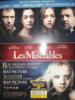 Les Misérables (Blu-ray/DVD, 2013, 2-Disc Set, Includes Digital Copy UltraViole…