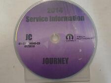 2014 DODGE JOURNEY Service INFORMATION Repair Shop Manual CD DVD OEM BRAND NEW