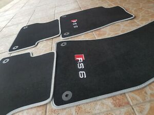 Audi A6 C7 RS6 4 G  floor mats