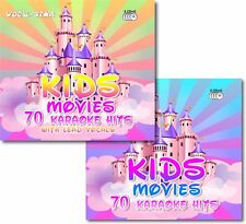 VOCAL-STAR 140 KIDS MOVIES DISNEY CHILDREN DISC SET KARAOKE CDG CD+G 6 DISC SET
