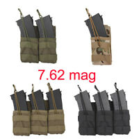 Nylon Tactical Military Magazine Pouches Holster Ammo Molle Pistol 7.62 Mag Bag