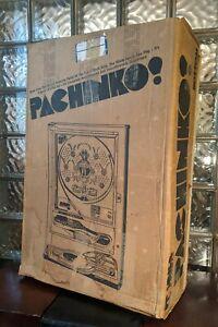 Beautiful Vintage 1970s Sanyo COMET-II Pachinko Machine w/ Grail Piece BOX!!