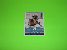 WINNIPEG BLUE BOMBERS CLARENCE DENMARK OPC OPEE CHEE CFL FOOTBALL CARD # 48