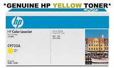 HP Genuine/Original 645A Colour C9732A YELLOW Toner Cartridge 5500 5550 Laser #B