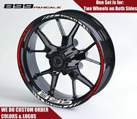 DUCATI Panigale 899 Wheel Decals Rim Stickers Set , Supersport Panigale Monster