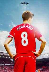 Steven Gerrard #8 Liverpool Phone Case iPhone Samsung Galaxy