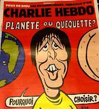 CHARLIE HEBDO n°1334*14/2/2018*NEUF*HULOT=PLANÈTE ou QUÉQUETTE*FR DROIT H/ANIMAL