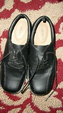 Boys Youth Black Dress Shoes Size 5