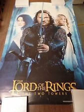"""Lord of the Rings Aragon with Sword 22x34"""" Original Poster P12"""