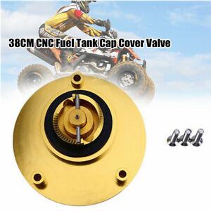38CM CNC Motorcycle Gas Fuel Tank Cap Cover Valve Breather Dirt Bike ATV
