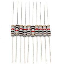 200pcs 20 Values 1W 5% Resistors Resistance Assortment Kit Set 10 ohm - 1M ohm