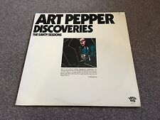 ART PEPPER - DISCOVERIES THE SAVOY SESSIONS - 1977 USA DOUBLE LP LOTS MORE JAZZ!