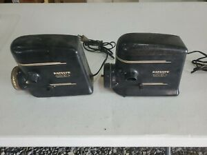 2 Vintage Barsope DeLuxe Barber Shop Hot Lather Machine
